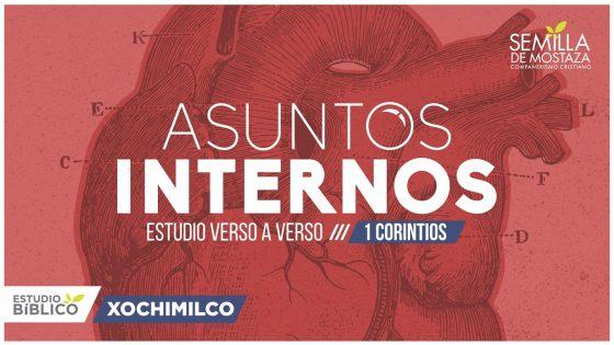 """1 Corintios """"Asuntos Internos"""""""
