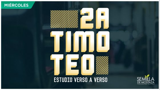 2 Timoteo 2018