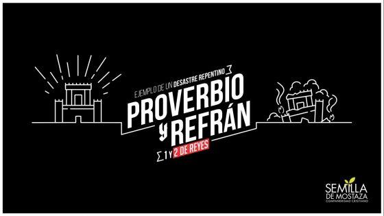 """2 Reyes """"Proverbio y Refrán"""""""